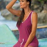 Эффектное платье - туника для пляжного отдыха от TM Marko Разные цвета