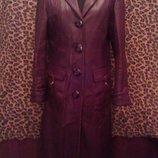 Плащ-Куртка-Пальто, натуральная кожа