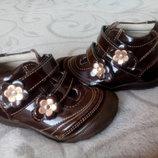 Красивые брендовые деми ботинки, ботиночки twig для девочки .Кожа