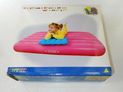 Надувной детский матрац с подушкой INTEX