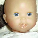 шикарный пупс младенчик Corolle Франция оригинал клеймо номер 34 см