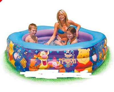 Детский надувной бассейн Intex 191x178x24 см 57494