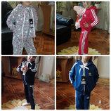 Спортивные костюмчики Адидас для мальчиков и девочек от 3 до 6 лет.