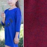 Платье, туника размер 104-116. Бордовый.