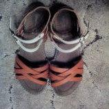 Красивые босоножки, сандали для девочки, 34 размер 21,5 см