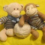 Обезьяна.мавпа.мишка.мішка.ведмедик.медведь.мягкая игрушка.Мягкие игрушки.Мягка іграшка.Next