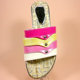Летние женские шлёпанцы-сланцы, пляжные. Размер 36-41.