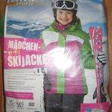 зимняя лыжная куртка р.134-140 мембрана Германия