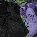 Две атласные блузки р. 46-48 в отличном состоянии