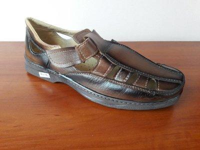Туфли босоножки мужские летние коричневые - Босоніжки туфлі чоловічі літні коричневі