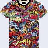 Прикольная 3D футболка Boom
