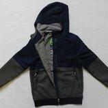 Куртка с трикотажными вставками. Topolino. Рост 140 см