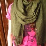 Красивый шарф палантин в отличном состоянии