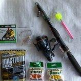 Набор для рибалки. Комплект для ловли мирной рыбы