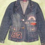 Жакет,пиджак джинсовый для девочки