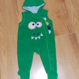Флисовый человечек George для ребенка 0-3 месяцев, 64 см