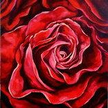 Картина маслом на холсте Роза