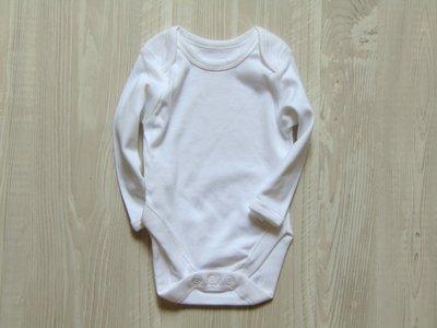 Новый белоснежный бодик с длинным рукавом для новорожденных. Ladybird. Размер 0-3 месяца