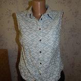 рубашка без рукавов стильная модная р10
