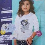 Регланы для девочек 1-4 года фирмы LUPILU 2 штуки в упаковке
