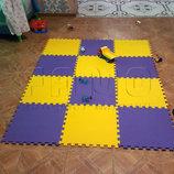 Модульное напольное покрытие для детской комнаты
