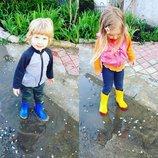 Детские резиновые сапоги VIVID