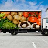 Перевозка продуктов питания - заморозки
