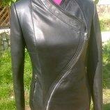 Куртка косуха не обычного кроя в наличии из натуральной кожи