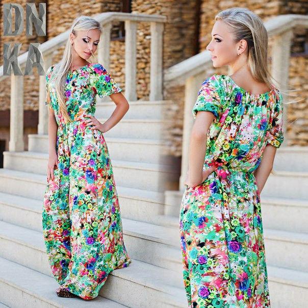 Платья и сарафаны с длинным рукавом
