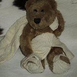 шикарный коллекционный мишка медведь С легким паром Aminals Англия оригинал 26 см