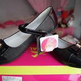 Туфли ортопедические для девочки новые чёрные размеры 32, 33, 34, 35, 36