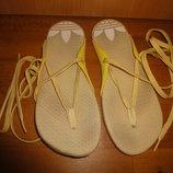 Вьетнамки Adidas 36 р. 23,5 см. на шнурках сланцы, сланци, вєтнамки, женские, летние, адидас, літні