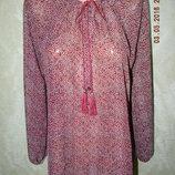Летняя блуза с принтом