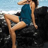 Пляжный костюм комбинезон на завязках Leila Marko