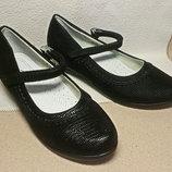 Школьные туфли девочкам, р. 32-36