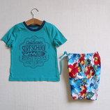 Яркие пляжные шорты для мальчика 18-24 мес