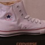 Converse All Star мужские высокие кеды Конверс чёрные и белые