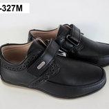 Детские классические школьные туфли для мальчика