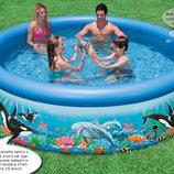 Надувной бассейн Интекс Intex 54906 фильтр насос