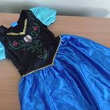 карнавал 7-8г костюм принцесса Disney Дисней принцесса утренник хеллоуин эльза анна
