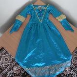 карнавал 5-6г костюм принцесса софия прекрасна Disney Дисней принцесса утренник принцесса мерида
