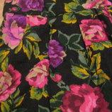 Женские стильные, легкие, летние шорты в цветочном принте. S-M.44-46.