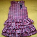 Фирменное платье сарафан на подкладке,отличное состояние