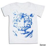 Новинка, футболка дя мальчика Тигр , 134 см , три цвета Тм Габби