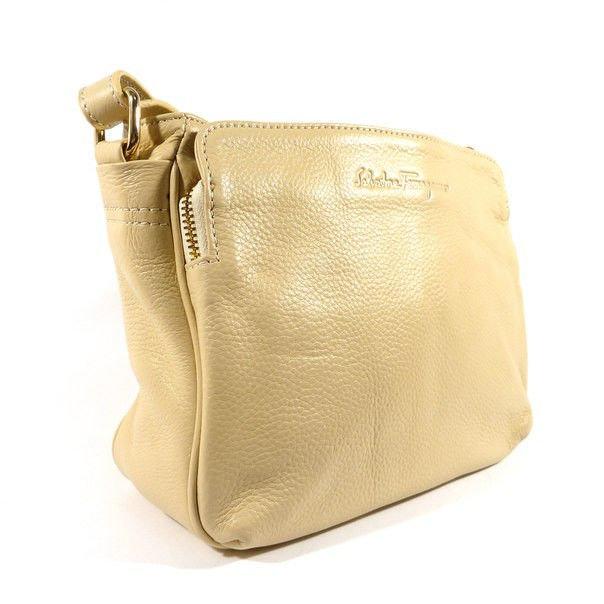Кожанная сумка salvatore ferragamo