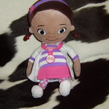 мягкая кукла Дисней доктор Плюшева Doc McStuffins Posh Paws Англия оригинал 35 см