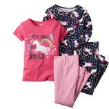 Комплект пижам для девочки Carters