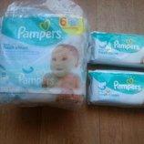 Pampers Влажные салфетки Pampers baby fresh clean 384шт 6пачек по 64шт.