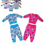 Пижама детская Акция ясельная интерлок цветной