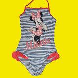 1800 вещей на деток 0-15 лет,Купальник с Минни-Маусом,на 9-10 лет,рост 134-140 см,Disney